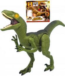 ADC Mighty Megasaur T-Rex / Raptor dinosaurus požírající na baterie Svìtlo Zvuk