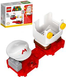 LEGO SUPER MARIO Obleèek ohnivý doplnìk k figurce 71370 STAVEBNICE