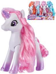 ZURU Sparkle Girlz koník jednorožec dlouhá høíva èesací støední 4 barvy