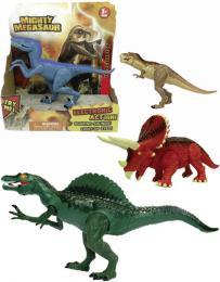 ADC Mighty Megasaur akèní dinosaurus 20cm na baterie 4 druhy Svìtlo Zvuk