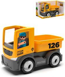 EFKO IGRÁÈEK MultiGO Set auto nákladní valník 21cm + figurka øidiè v krabici