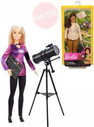 MATTEL BRB Povolání National Gegraphic set panenka Barbie s doplòky
