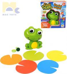 MAC TOYS Hra pohybová Žabák Froggy na baterie *SPOLEÈENSKÉ HRY*