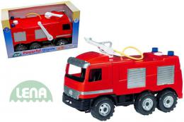 LENA Auto Mercedes hasiè 70 cm 2028 (požární auto, støíká vodu)