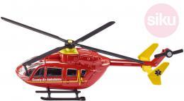 SIKU Vrtulník èervený záchranáøský ambulance model 1:87 kov 1647