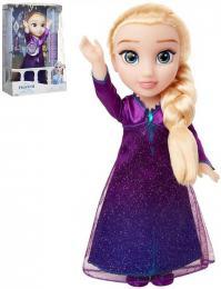 ADC Panenka Elsa zpívající 33cm Ledové Království (Frozen) na baterie Zvuk