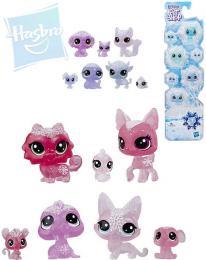 HASBRO LPS Zvíøátka z ledového království set 7ks Littlest Pet Shop