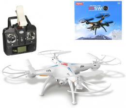 RC Dron na vysílaèku 2,4GHz na baterie Wi-Fi kvadrokoptera s HD kamerou