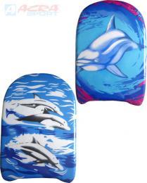 ACRA Plavecká deska plastová 43 x 27 cm rùzné druhy