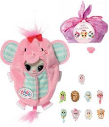 ZAPF CREATION BABY BORN Surprise 3 zvíøátko ve fusaku plast 18 druhù