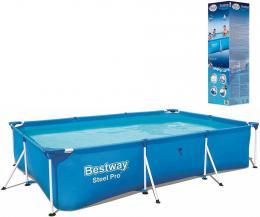BESTWAY Bazén Family Steel Pro rodinný obdelníkový 300x201x66cm s rámem 56404