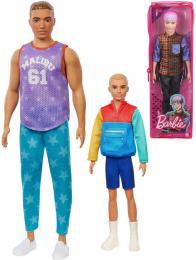MATTEL BRB Barbie Fashionistas panák Ken model 5 druhù v krabièce