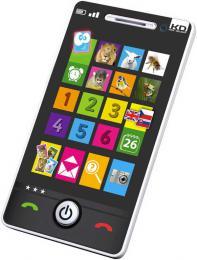 Smartphone telefon dìtský dotykový 4 hry nauèný na baterie CZ/SK/AJ Zvuk