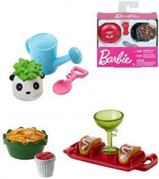 MATTEL BRB Mini doplòky pro panenku Barbie 4-6ks rùzné druhy
