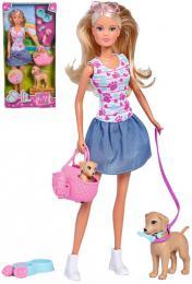 SIMBA Panenka Steffi na procházce set s pejsky a doplòky