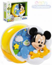 CLEMENTONI Baby projektor Mickeyho kouzelné hvìzdy na baterie Svìtlo Zvuk