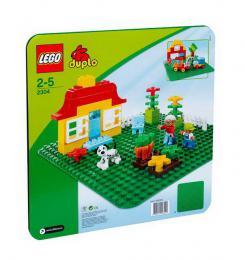 LEGO DUPLO Podložka velká 38x38cm zelená plast 2304