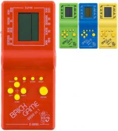 Hra retro postøehová elektronická Kvadrix na baterie Tetris 4 barvy