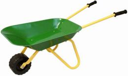 OLYMPTOY Dìtské koleèko (koleèka) kovové zelené na zahradu