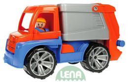 LENA Truxx malý popeláø 29 cm *Popeláøské autíèko* (okrasná krabice)