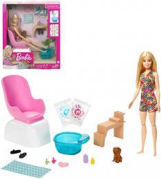 MATTEL BRB Barbie manikúra a pedikúra herní set panenka s doplòky