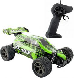 RC Auto Buggy rychlostní 1:18 na vysílaèku 2,4GHz na baterie 22cm zelená