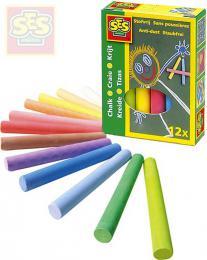 SES CREATIVE Køídy dìtské barevné set 12ks v krabièce