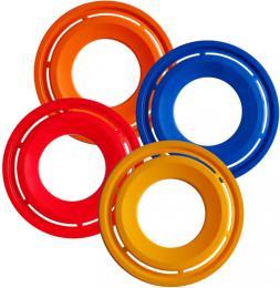 ACRA Hra prstenec plastový létající disk 28cm 4 barvy