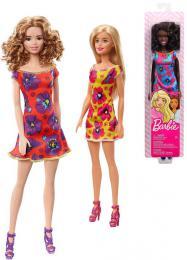 MATTEL BRB Panenka Barbie Trendy obleèek kvìtinami 4 druhy