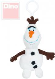 DINO PLYŠ Klíèenka dìtská Olaf 10cm Frozen *PLYŠOVÉ HRAÈKY*