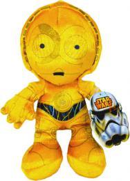 ADC PLYŠ C-3PO 17cm Star Wars (Hvìzdné Války) *PLYŠOVÉ HRAÈKY*