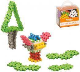 MARIOINEX Baby Mini Wafle stavebnice møížka mìkké ohebné dílky 35ks