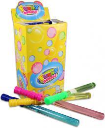 Bublifuk meè 37cm dìtský bublifukovaè velké bubliny 4 barvy