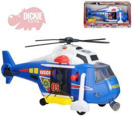 DICKIE Vrtulnik záchranáøský 41 cm SVÌTLO ZVUK Na baterie
