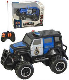 RC Auto policejní terénní SUV na vysílaèku na baterie Svìtlo 2 barvy