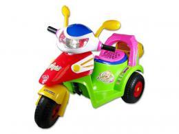 Motorka (skutr) na baterie elektrické vozítko pro dìti svìtlo, zvuk AKCE!