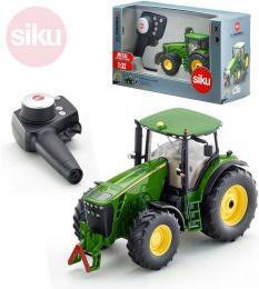 SIKU RC Model Traktor John Deere 8345R 2,4GHz na vysílaèku 1:32 na baterie kov Svìtlo