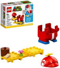 LEGO SUPER MARIO Obleèek s vrtulí doplnìk k figurce 71371 STAVEBNICE