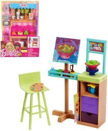 MATTEL BRB Barbie dokonalé pracovištì herní set 3 druhy plast