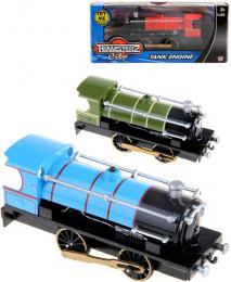 Teamsterz parní lokomotiva kovová na baterie Svìtlo Zvuk rùzné barvy