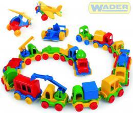 WADER Kid Car vozítka 18 druhù 60000