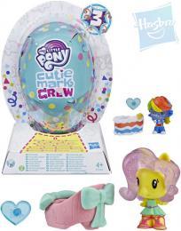 HASBRO MLP My Little Pony Cutie Mark set zvíøátko v balónku s doplòky plast