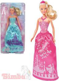SIMBA Panenka Steffi Love princezna 29cm tøpytivé šaty 2 druhy