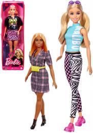 MATTEL BRB Panenka Barbie Fashionistas modelka 6 druhù v krabièce