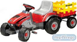 PEG PÉREGO TONY TIGRE šlapací øetìzový traktor pro dìti