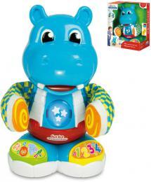 CLEMENTONI Baby hroch Filip tancuje tleská rukama na baterie Svìtlo Zvuk