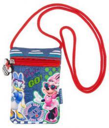 Dìtská taštièka na krk Disney Minnie Mouse s provázkem penìženka na zip
