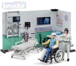 BRUDER 62711 Zdravotní stanice set se 2 figurkami a doplòky 1:16