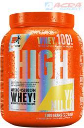 ACRA Gainer Extrifit High Whey 80 1000g vanilka doplnìk stravy