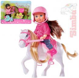 SIMBA Evièka panenka set s poníkem 3 druhy